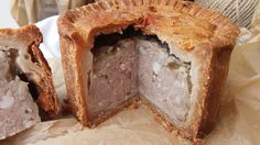 A traditional pork pie as I was taught to make it. For a more authentic pie, instead of using minced pork, use finely chopped pork chops and a few rashers of finely chopped bacon (use a food processor). Pastry Recipes, Pie Recipes, Cooking Recipes, Recipies, Cooking Ideas, Yummy Recipes, Food Ideas, Yummy Food, Quiches