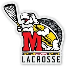 2015 Custom [sticker] design for Maryland Women's Lacrosse