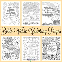 Getting older children to memorize scripture can be as easy as having them color! Check out these 6 awesome Bible verse coloring pages! Sunday School Activities, Bible Activities, Sunday School Lessons, Sunday School Crafts, Religion Activities, Printable Coloring Pages, Colouring Pages, Adult Coloring Pages, Coloring Books