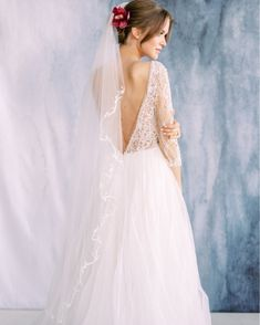 Bridal Looks, Beaded Embroidery, Delicate, Nordstrom, Glamour, Gowns, Veils, Wedding Dresses, Pretty