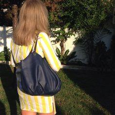 The Royal Talega. Summer Style. Leather Shoulder Bag