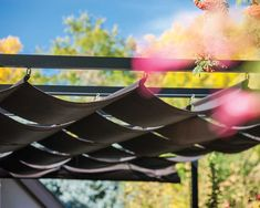 Slide Wire Cable Canopies Are Perfect For Managing The Amount Of Sunlight  Or Shade That Enters