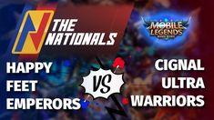 Happy Feet Emperors vs Cignal Ultra Warriors | Game 1 | THE NATIONALS TO... Twitch Channel, Warriors Game, Winners And Losers, Palm Of Your Hand, Mobile Legends, Game 1, Punisher, Emperor, Bang Bang