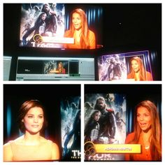 "Jamie Alexander shares how she gets in shape for the movie ""Thor"" and explains why Sif is one of her favorite roles - You'll be able to watch the interview soon on @tudesayunoalegre  -----///---- Jamie Alexander comparte sus secretos para ponerse en forma para el papel de ""Sif"" en Thor. No se pierdan la entrevista el 8 de Noviembre por @tudesayunoalegre #health #healthy #fit #fitfam #movies #movielovers #hollywood #tv #gossip #adrianamartin #training #workout #workingmom #mom #mompreneur"