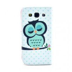 Galaxy S3 vihreä pöllö lompakkokotelo Samsung Galaxy S3, Owl, Phone Cases, Decoration, Decor, Owls, Decorations, Decorating, Dekoration