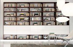 Βιβλιοθήκες έπιπλα :: Βιβλιοθήκες με ξύλο και λάκα :: Βιβλιοθήκη Jass5 - Balton.gr / Συνθέσεις τοίχου, συνθέσεις σαλονιού και Βιβλιοθήκες έπιπλα από γυαλιστερή πολυεστερική λάκα ,ξύλο δρυς, λακαριστά τζάμια, καινούργια μοντέρνα φινιρίσματα από πέτρα και ανάγλυφα ξύλα σε ποικιλία χρωματισμών και διαστάσεων κορυφαίας ποιότητας.