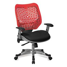 Ventilated Mesh and Plastic Ergonomic Task Chair