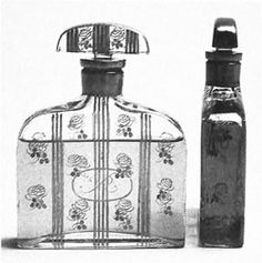 Paul Poiret was the first clothing designer to create perfumes, and he worked with chemists to concoct mysterious, Oriental scents.
