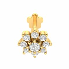 Real Diamond Dermal Jewelry