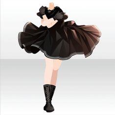 Model Outfits, Girl Outfits, Cute Fashion, Girl Fashion, Cute Dresses, Vintage Dresses, Pelo Anime, Fantasy Gowns, Anime Dress