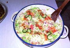 Veggie Recipes, Salad Recipes, Veggie Meals, Cheeseburger Chowder, Potato Salad, Macaroni And Cheese, Bacon, Salads, Food Porn