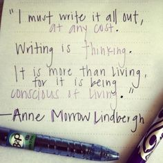 Yes. :: Anne Morrow Lindbergh quote