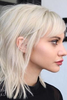You probably have already thought about medium hairstyles with bangs if you are an owner of shoulder length hair. This kind of hairstyle looks especially seductive. Bangs have also some practical purposes besides giving additional sexiness to the look.