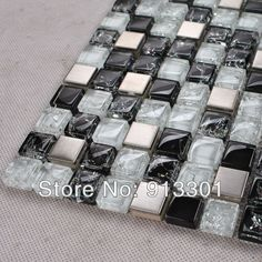 Cheap art glass mosaic tile, Buy Quality tile bathroom directly from China mosaic art sale Suppliers:  Crystal glass tiles are impervious to the elements, thus it is great for both interior and exterior use so moisture is