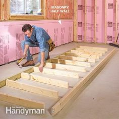 How to Finish a Basement: Framing and Insulating 1/2 wall