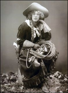 The Pictorial Arts - Cowgirl 1900