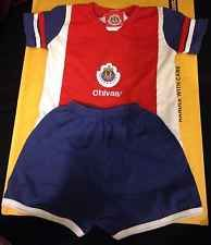 Chivas de Guadalajara Baby Toddler Soccer Outfit Licensed Size 12 Months GUC