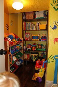 Toddlers, Teens & In-Betweens: Toy storage