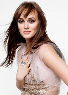Leighton Meester in Marie Claire Cover