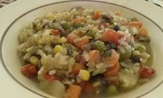 Brown Rice Curry with Vegetables I made this in my pressure cooker but you could easily make it on the stove top, just start the brown rice first, it takes about 30 minutes total, so add the veggies...