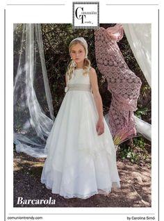 Vestidos de Comunión 2015 para niñas de BARCAROLA moda infantil | COMUNIÓN TRENDY :: Mil ideas para organizar una Primera Comunión :: Vestidos de comunión, Recordatorios, Trajes de Comunión