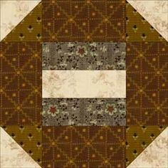Use My Pattern to Sew Easy Churn Dash Quilt Blocks: About the Album Churn Dash Quilt Block