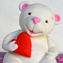 nogas | Bear love cake