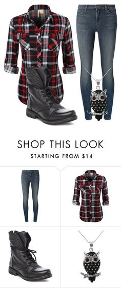 """Canada #2"" by kreepykitten ❤ liked on Polyvore featuring J Brand, LE3NO, Steve Madden and Jewel Exclusive"