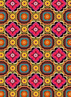 tile-like pattern, detailed