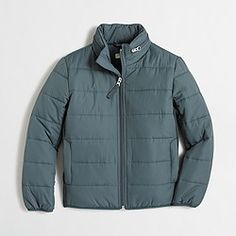 Factory kids' quilted puffer jacket with Thinsulate®