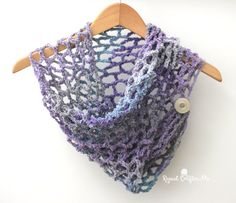 One Skein Cowl with Lion Brand Textures Yarn - Repeat Crafter Me
