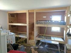 built in bunk beds - Imgur