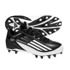 SALE - Adidas Lightning Fly Football Cleats Mens Black Synthetic - Was $64.99 - SAVE $17.00. BUY Now - ONLY $47.97