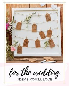 Bridal Shower Decorations, Wedding Decorations, Backyard Weddings, Creative Wedding Ideas, Guest Book Alternatives, Event Design, Card Displays, Bright, Beautiful