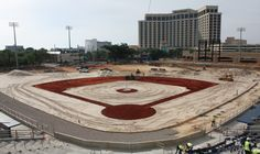 #MGMPark Playing Field Overview as of 4/24/15.