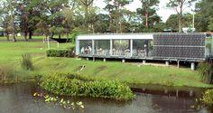Waterfall Cafe Kariong overlooking Mount Penang Botanical Gardens