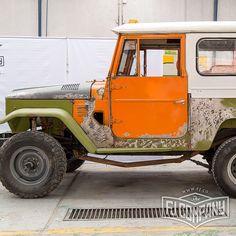 Restoration update 1974 Toyota LandCruiser FJ43 #fjrestoration #fj43 #fj40