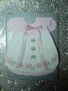Baby Girl Pinafore Dress by PEIcardcrazy - Cards and Paper Crafts at Splitcoaststampers