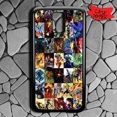 Marvel Super Hero Samsung Galaxy S5 Black Case