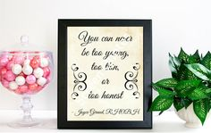 Real Housewives Printable Quote Art Joyce Giraud by ScreenQuotes