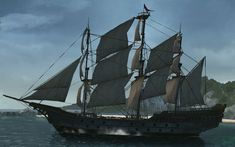 Assassins Creed 4, Ship Of The Line, Armored Truck, Rp Ideas, Dragon Games, Wooden Ship, Fantasy World, Sailing Ships, Military