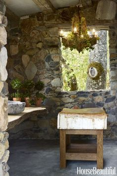 """This Woman Recreated Provence in Her Own Backyard Exceptional """"outdoor kitchen countertops grill area"""" detail is available on our website. Take a look and you wont be sorry you did. Layout Design, Küchen Design, Design Ideas, Sofa Design, House Design, Interior Design, Outdoor Kitchen Countertops, Concrete Countertops, Provence"""