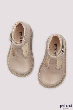 Pale Blue Leather With Boat Motif Leather Lined Arch Support Baby op