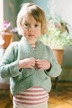 Imogen wearing Livie Cardigan, by Carrie Bostick Hoge for Madder