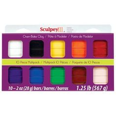 Sculpey Polymer Clay Color: Classics