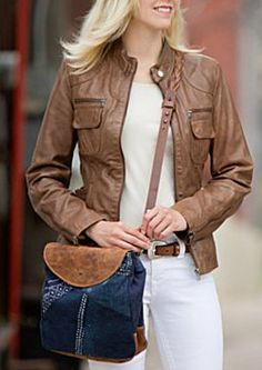 Marie Leather Jacket