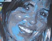 A PERSONNALISER - Anniversaire : Peinture entièrement fait main à partir d'une photo : Décorations murales par lcdc