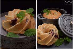 Citrónovo-borůvkové bábovičky Thai Red Curry, Cantaloupe, Fruit, Ethnic Recipes, Food, Lemon, Essen, Meals, Yemek