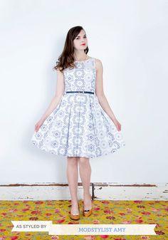Posh and Circumstance Dress, #ModCloth