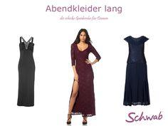 Schicke #Abendkleider #lang passen ideal zu festlichen Anlässen!